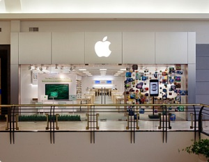 Crabtree Valley Mall Apple Store Front